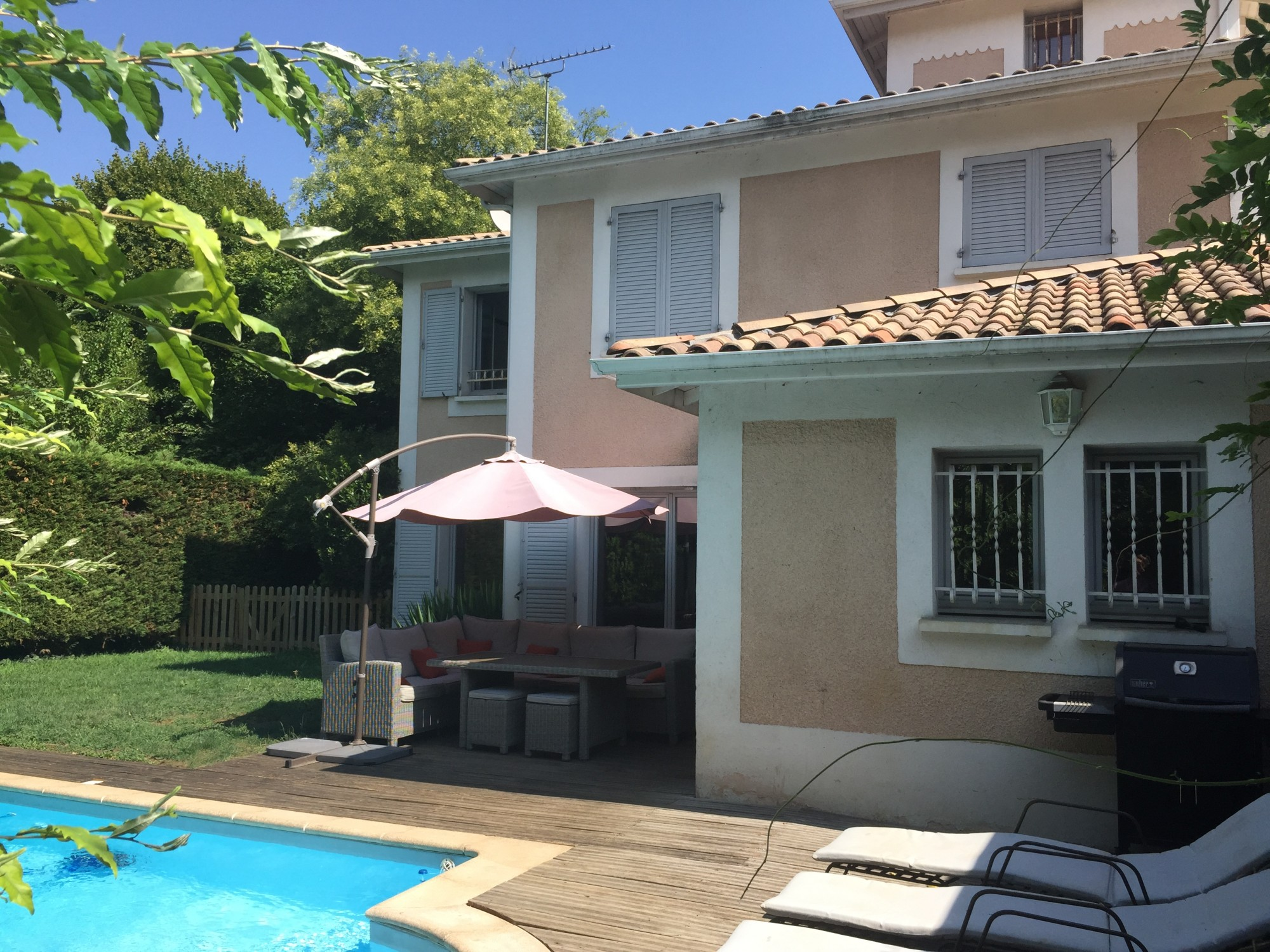 Vente maison t7 f7 ecully avec piscine immobilier ecully for Acheter maison ecully